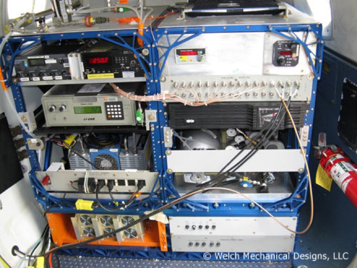 Electronic Test Equipment Racks : Aircraft support equipment